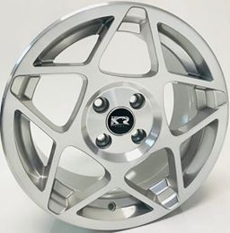 Roda KR K66 Aro 15x7 4x100/108 ou 5x100 Jogo