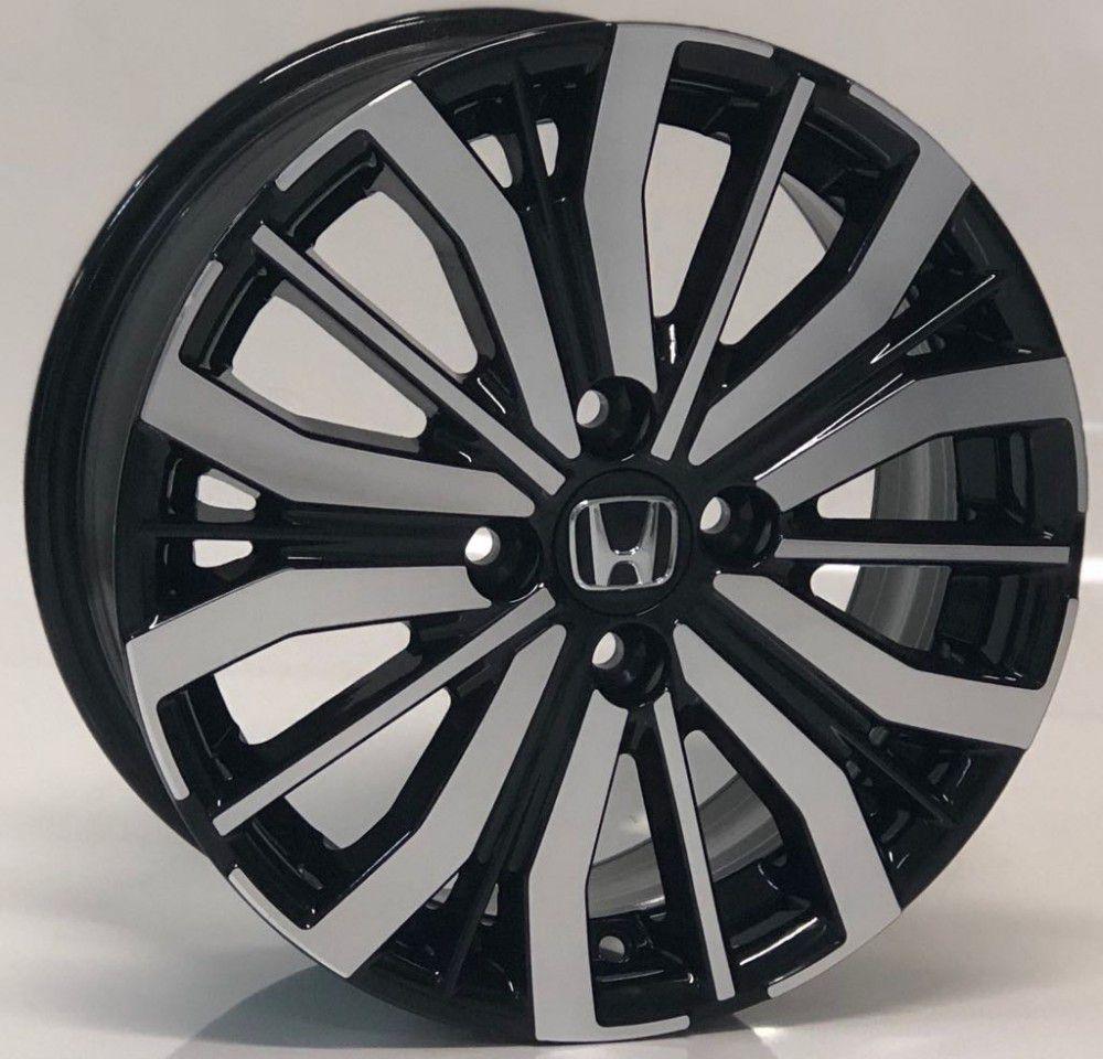 Roda KR S04 Honda City 15x6 4X100 Jogo