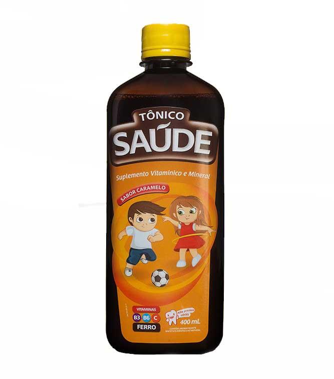 Tônico Saúde 400mL Caramelo  - Saúde Compras