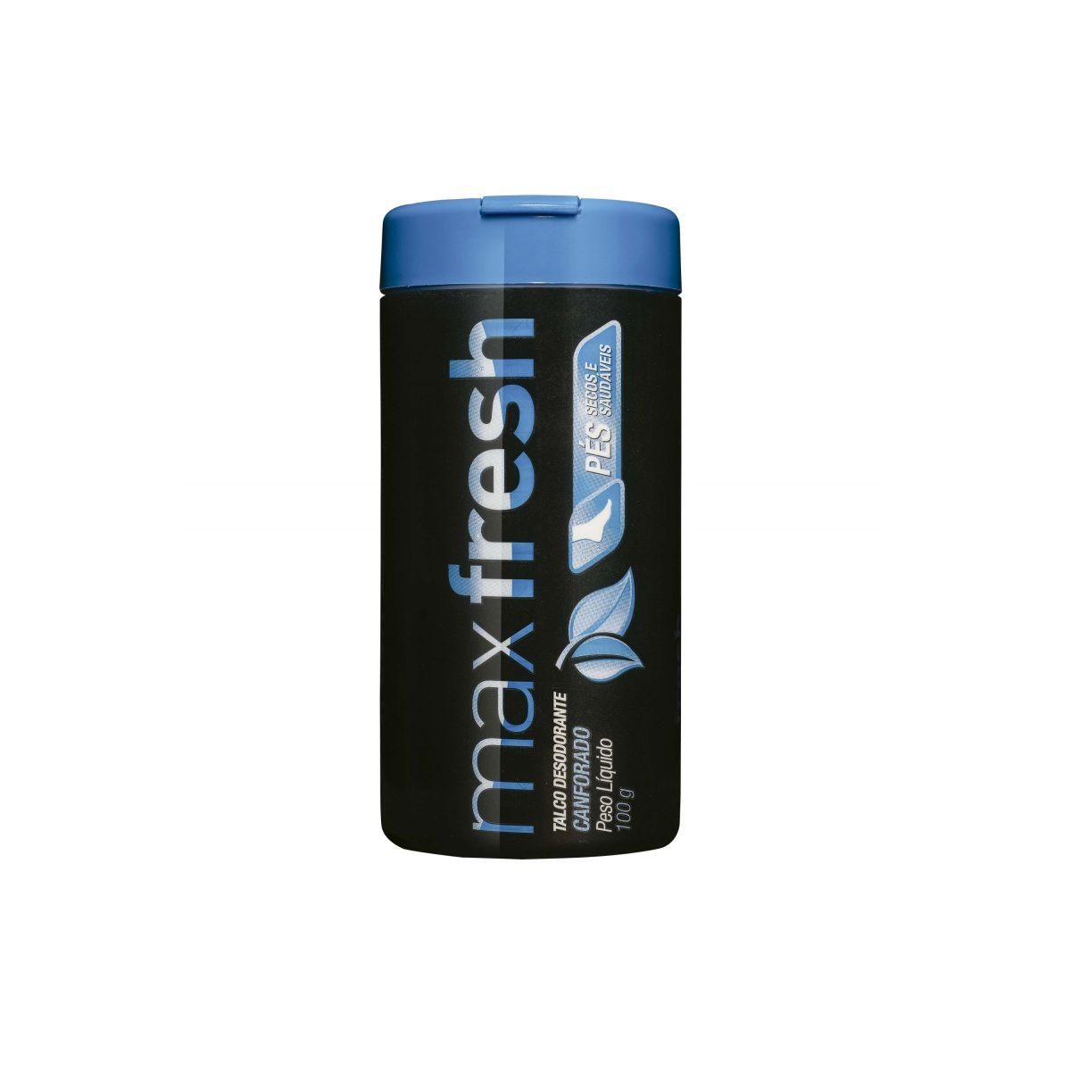 Max Fresh Talco Desodorante Canforado  - Saúde Compras