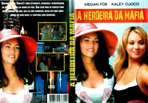 A HERDEIRA DA MÁFIA (2004)  - FILMES RAROS EM DVD