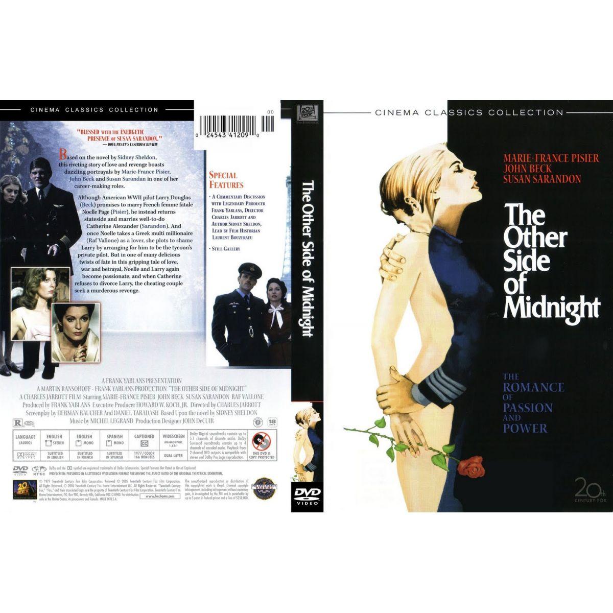 O Outro Lado da Meia-Noite (1977) Sidney Sheldon  - FILMES RAROS EM DVD