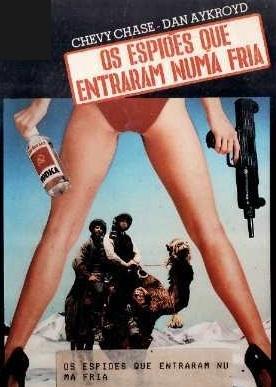 OS ESPIÕES QUE ENTRARAM NUMA FRIA (1985)  - FILMES RAROS EM DVD