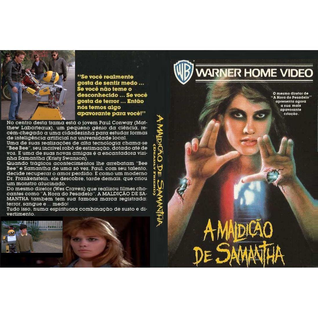 A Maldição de Samantha (1986)  - FILMES RAROS EM DVD