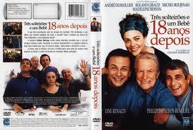 Três Solteirões e um Bebê 18 anos depois  - FILMES RAROS EM DVD