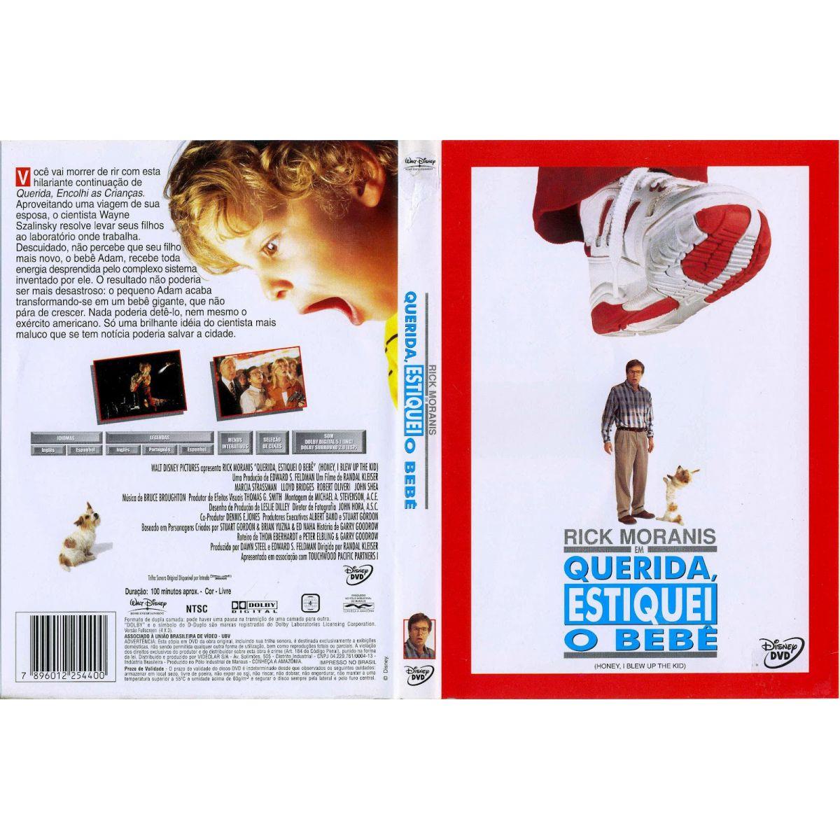 Querida, Estiquei o Bebê  - FILMES RAROS EM DVD