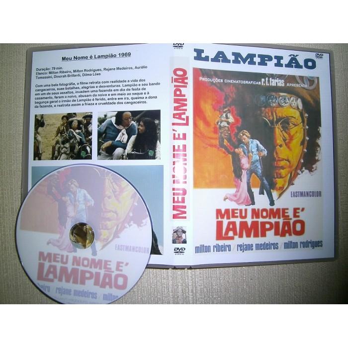 DVD Meu Nome é Lampião 1969  - FILMES RAROS EM DVD