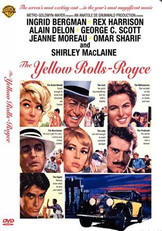 O ROLLS-ROYCE AMARELO (1964)  - FILMES RAROS EM DVD