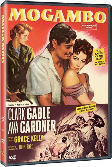 MOGAMBO  – 1953  - FILMES RAROS EM DVD