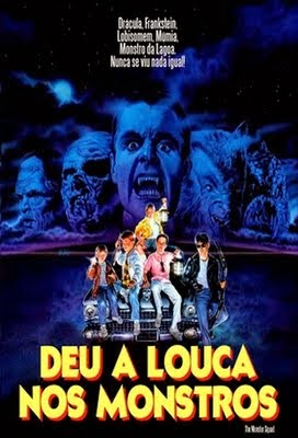 Deu a Louca nos Monstros  (1987) dublado  - FILMES RAROS EM DVD