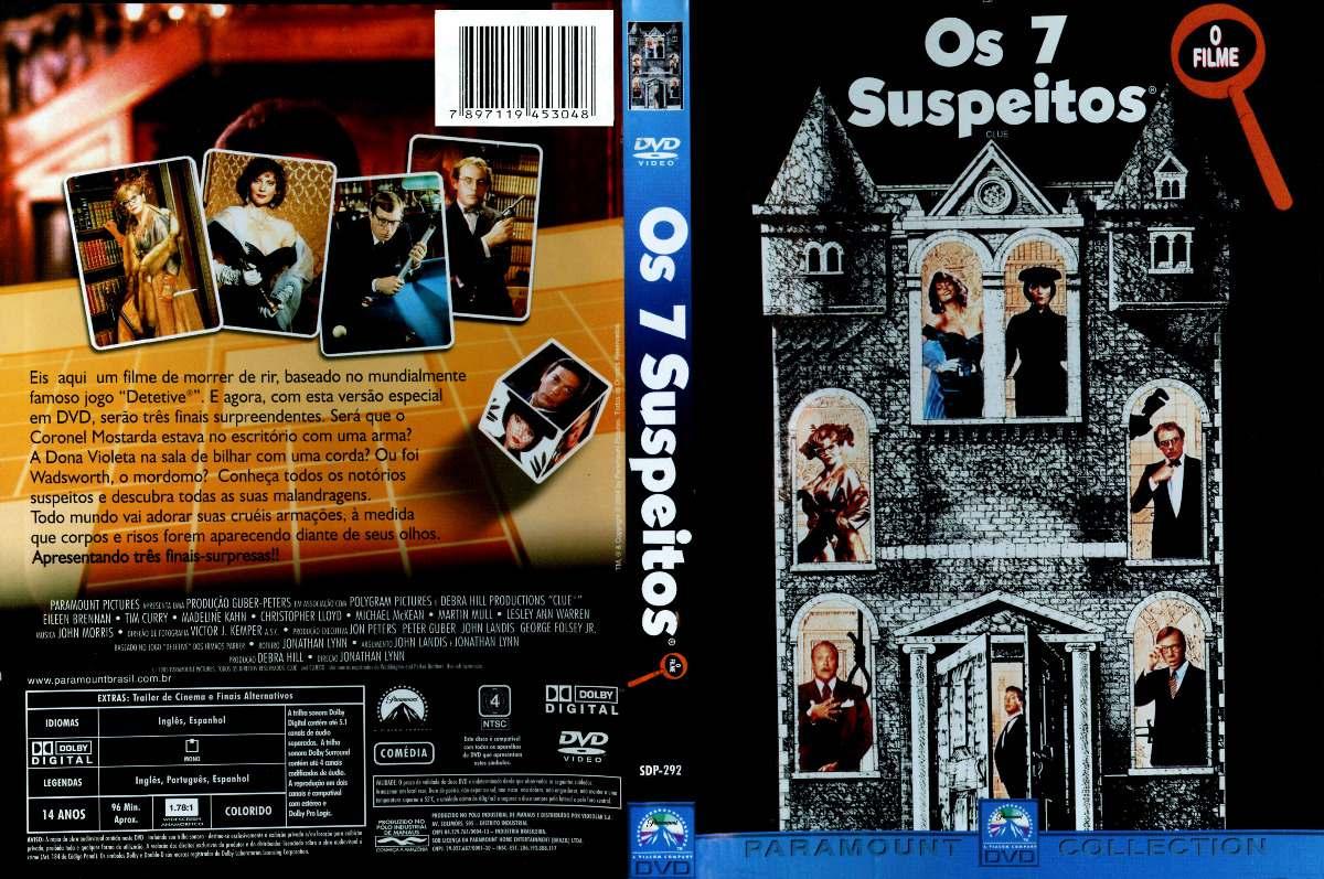 OS 7 SUSPEITOS (1985)  - FILMES RAROS EM DVD