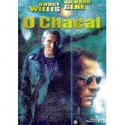 DVD O Chacal - 1997 com Bruce Willis, Richard Gere