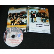 DVD Quando Tudo Começa - Ça Commence Aujourdhui (1999)