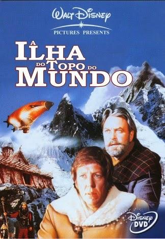 A Ilha do Topo do Mundo (1974)  - FILMES RAROS EM DVD