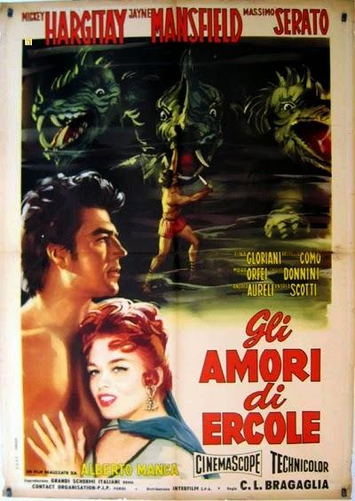 HÉRCULES CONTRA OS DRAGÕES (1960)  - FILMES RAROS EM DVD