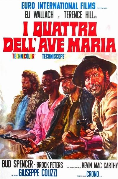OS QUATRO DE AVE MARIA (1968)  - FILMES RAROS EM DVD