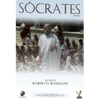 DVD SÓCRATES 1971 - Roberto Rossellini   - FILMES RAROS EM DVD