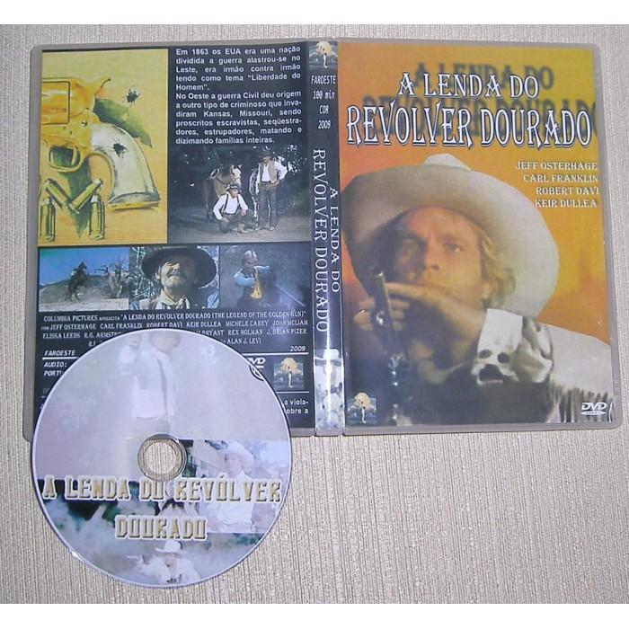 DVD A Lenda do Revólver Dourado 1979   - FILMES RAROS EM DVD