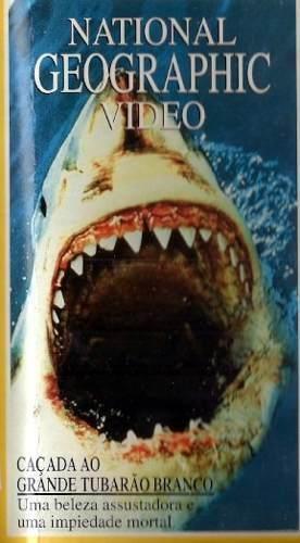 Caçada Ao Grande Tubarão Branco National Geographic  - FILMES RAROS EM DVD