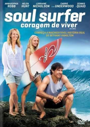 Dvd Soul Surfer Coragem De Viver  - FILMES RAROS EM DVD