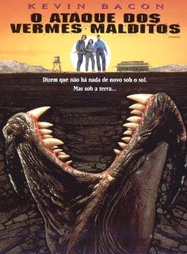 O ATAQUE DOS VERMES MALDITOS (1990) DUBLADO  - FILMES RAROS EM DVD