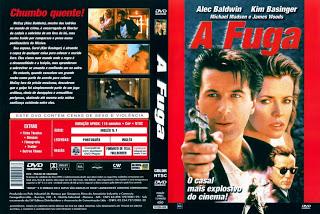 A Fuga Com Alec Badwin E Kim Besinger - Raro  - FILMES RAROS EM DVD