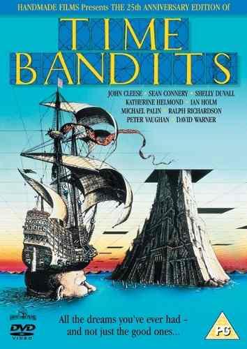 Dvd - Os Bandidos Do Tempo 1981(Time Bandits)  - FILMES RAROS EM DVD