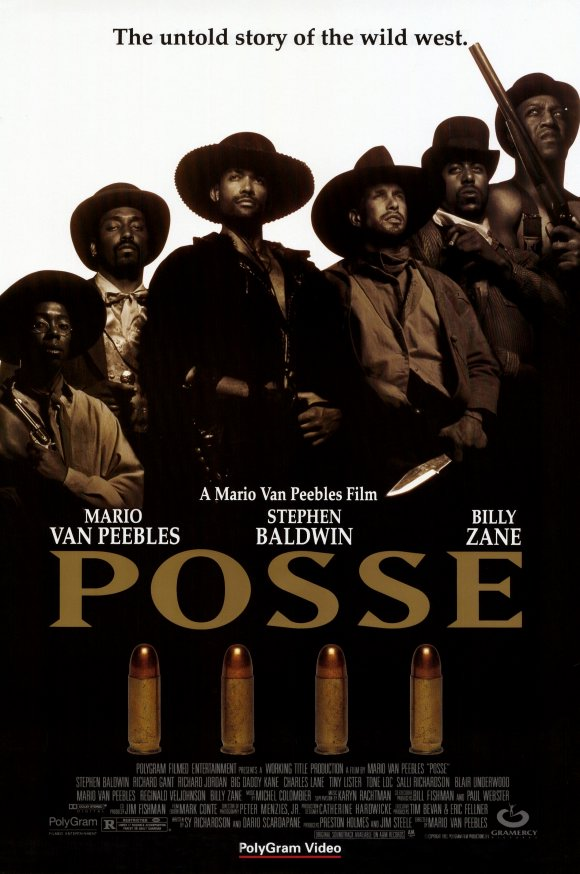 POSSE – A VINGANÇA DE JESSIE LEE (1993)  - FILMES RAROS EM DVD