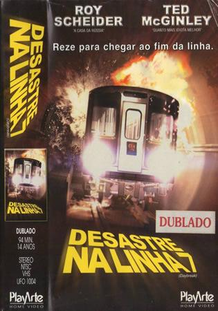DESASTRE NA LINHA 7  - dublado  - FILMES RAROS EM DVD