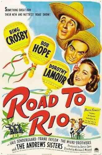 A Caminho Do Rio (1947) - Road To Rio  - FILMES RAROS EM DVD