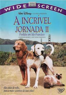 A Incrível Jornada 2: Perdidos em São Francisco (1996)  - FILMES RAROS EM DVD