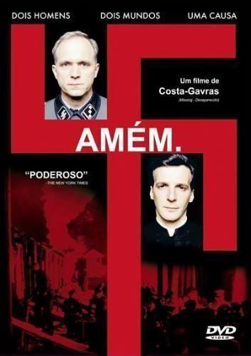 Dvd Amém - Costa Gravas Gênio, Holocausto, Nazismo  - FILMES RAROS EM DVD