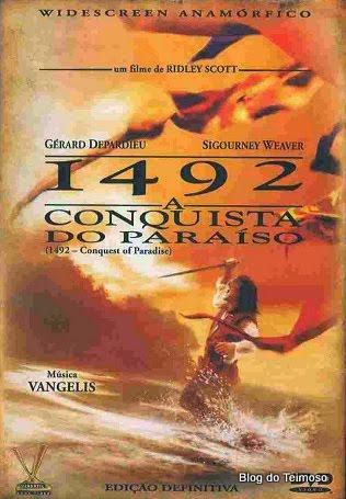 1492 - A Conquista do Paraíso  - FILMES RAROS EM DVD