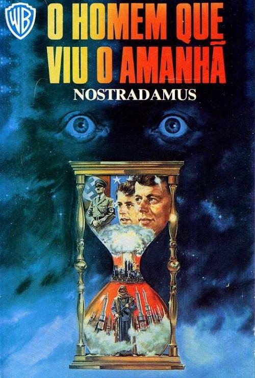 O HOMEM QUE VIU O AMANHÃ (1981) Nostradamus  - FILMES RAROS EM DVD