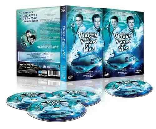 Viagem Ao Fundo Do Mar - Série Completa - 48 Dvd´s  - FILMES RAROS EM DVD