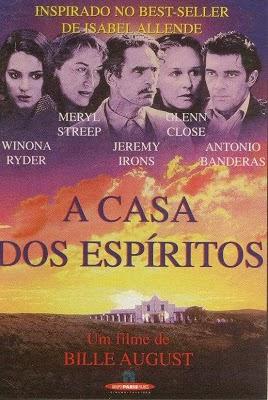 A Casa Dos Espiritos - Jeremy Irons , Isabel Allende  - FILMES RAROS EM DVD