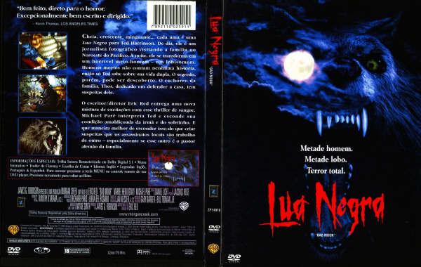 Lua Negra 1996/ Na Lua Cheia (Bad Moon)   - FILMES RAROS EM DVD