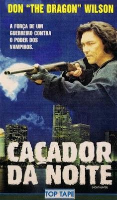 Caçador Da Noite - 1996 ( Night Hunter)  - FILMES RAROS EM DVD