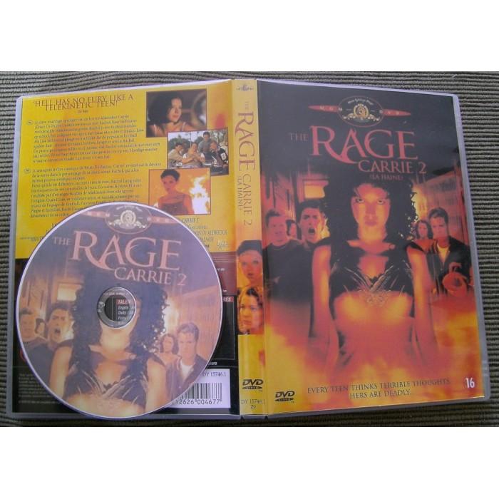 A Maldição de Carrie (The Rage: Carrie 2)  - FILMES RAROS EM DVD
