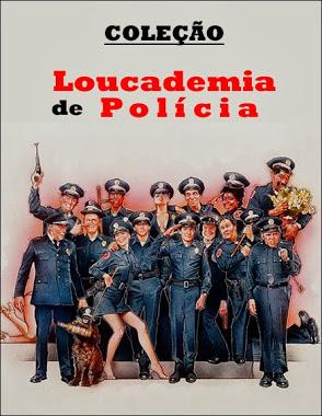 COLEÇÃO LOUCADEMIA DE POLÍCIA 1984 - 1994  - FILMES RAROS EM DVD
