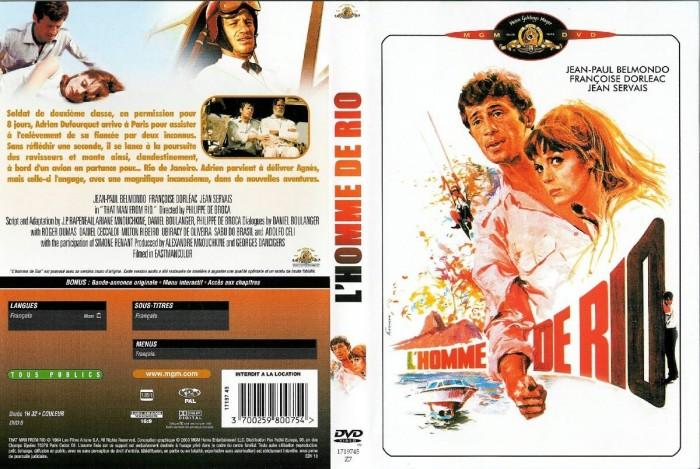 Dvd O Homem Do Rio / L´homme De Rio - 1964  - FILMES RAROS EM DVD