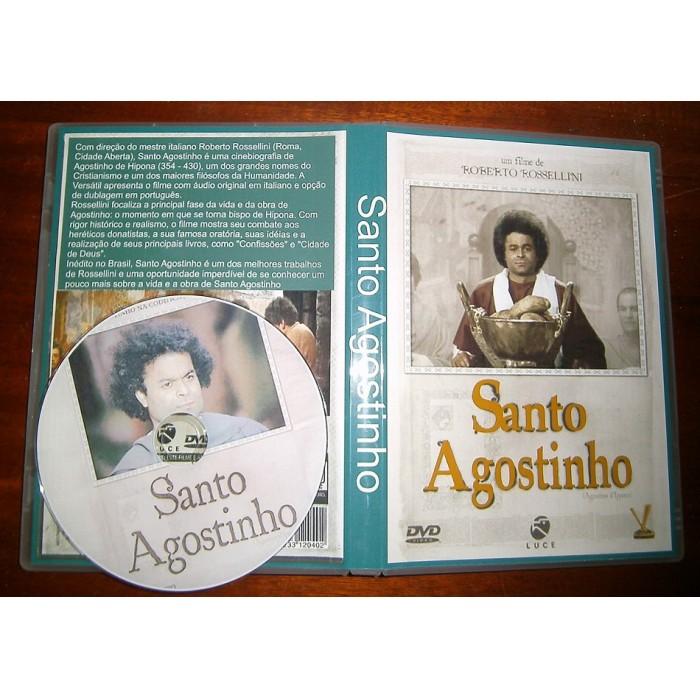Santo Agostinho 1972  - FILMES RAROS EM DVD