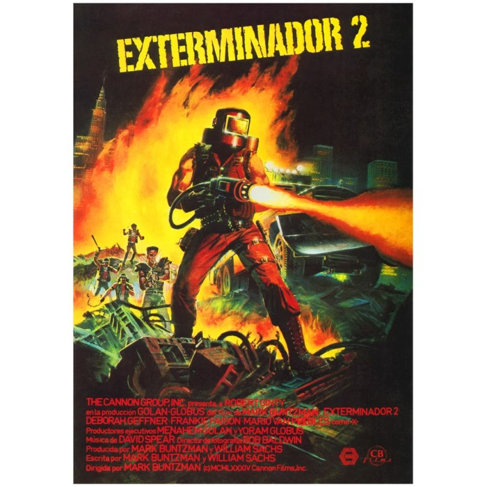 EXTERMINADOR 2 - 1984  - FILMES RAROS EM DVD
