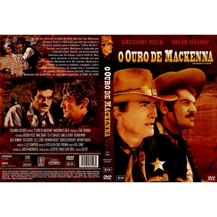 O Ouro de Mackenna (1969)  - FILMES RAROS EM DVD