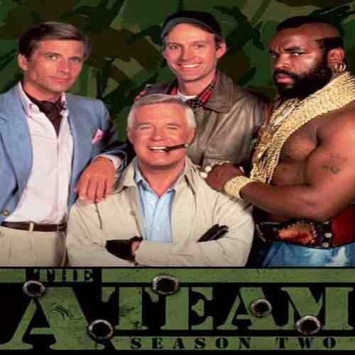Esquadrão Classe A - The A-team - Série Completa E Dublada  - FILMES RAROS EM DVD