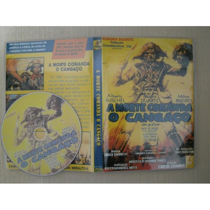 Dvd A Morte Comanda O Cangaço 1961  - FILMES RAROS EM DVD