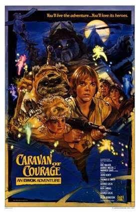 DVD Caravana Da Coragem : Uma Aventura Ewok  - FILMES RAROS EM DVD