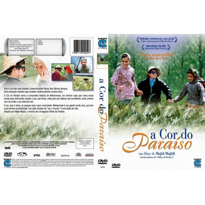 2 Dvds A Cor Do Paraíso + Filhos Do Paraíso  - FILMES RAROS EM DVD