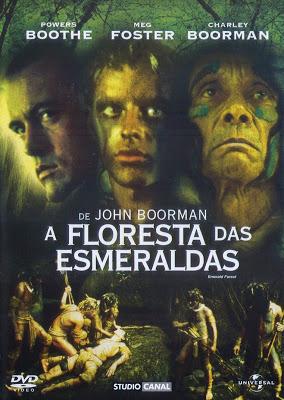 A FLORESTA DAS ESMERALDAS – 1985  - FILMES RAROS EM DVD