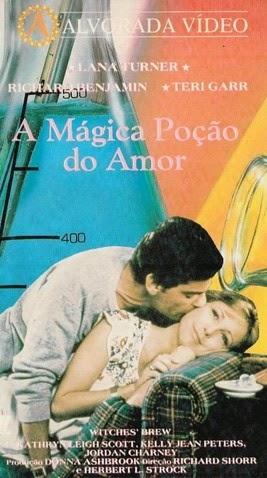 A MÁGICA POÇÃO DO AMOR - 1980  - FILMES RAROS EM DVD